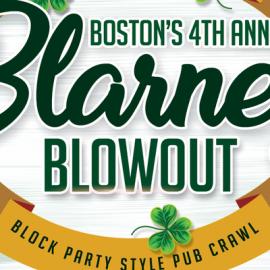BOSTON BLARNEY BLOWOUT BOCK PARTY