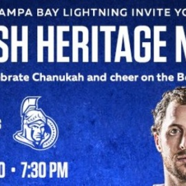 Hanukkah and the Tampa Bay Lightning