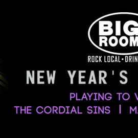 NYE - Cordial Sins, Playing to Vapors, Marcus Alan Ward