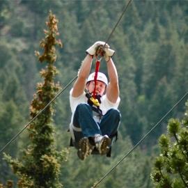 Summer Zip Line Special Trips - Zipping Colorado