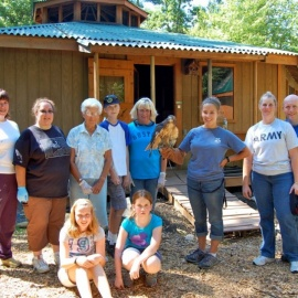Center for Wildlife's Volunteer Workday!
