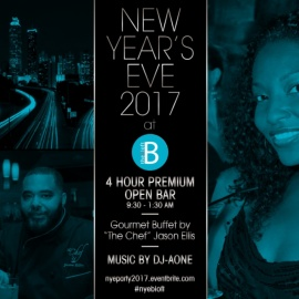 New Year's Eve 2017 at The B Loft