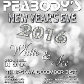 Peabody's Nightclub New Years Eve 2016