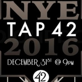 Tap 42 Fort Lauderdale - NYE PARTY