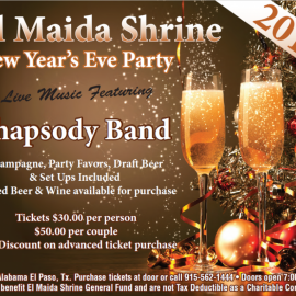 El Maida Shrine - Annual New Year's Eve Party 2016