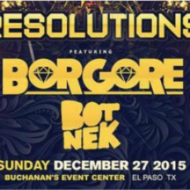 RESOLUTIONS:BORGORE & Friends 2016