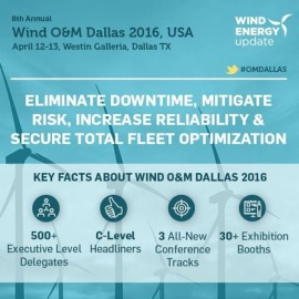 8th Annual Wind O&M Dallas 2016