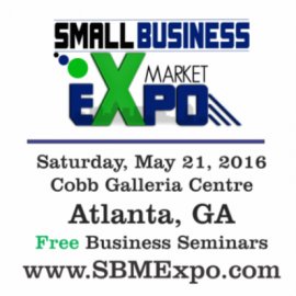Small Business Market Expo Atlanta May 2016 Trade Show