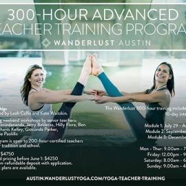 Wanderlust 300-Hour Teacher Training Program