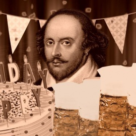 CAKES AND ALE! Surprise Birthday Party for William Shakespeare / Fundraiser for Shakespeare in the P