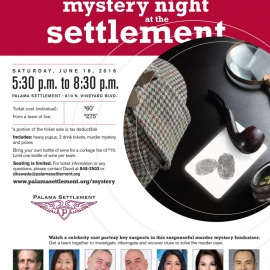 CELEBRITY CAST STAR IN PALAMA SETTLEMENT MYSTERY NIGHT FUNDRAISER