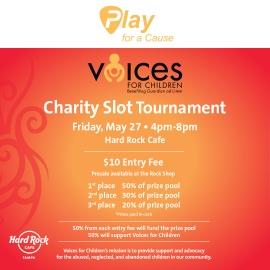 Voices For Children Charity Slot Tournament