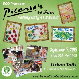 BCO Presents: Picasso's by Paws Painting Party & Fundraiser