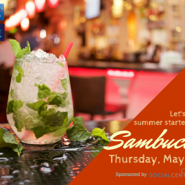 AAF Dallas Hosts Happy Hour at Sambuca