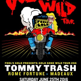 Gold Gone Wild Tour- Summer Boat Cruise Series- Tommy Trash