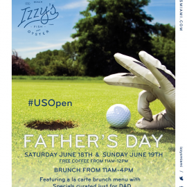 Father's Day Brunch at Izzy's Fish & Oyster