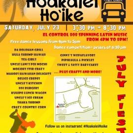 Hoakalei Ho'ike July Fiesta benefit for the 'Ewa Weed & Seed Program