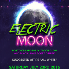 Electric Moon Boat Cruise by Summer Series