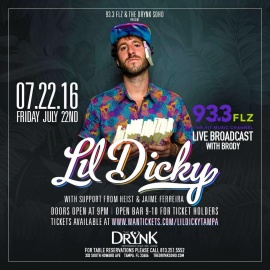 Lil Dicky at DRYNK SoHo