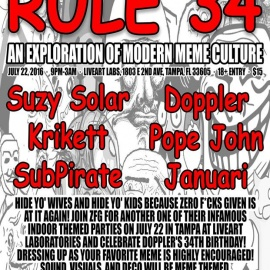 Zero F*ucks Given Presents Rule 34: An Exploriation of Modern meme Culture