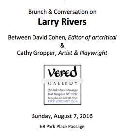 Brunch & Conversation on Larry Rivers