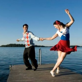 8pm Swing Dance Party and West Coast Swing Classes!