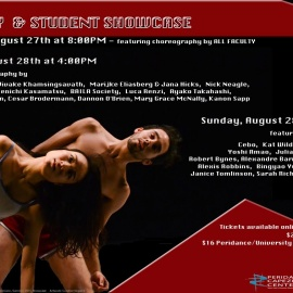 2016 Peridance Faculty & Student Showcase