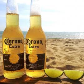 Corona Beer Beach Delivery