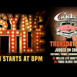 *LIP SYNC BATTLE* AT CADDYS ON CENTRAL