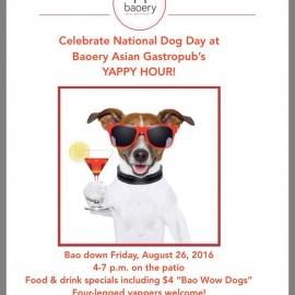 Yappy Hour @ Baoery Asian Gastropub