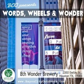 BCO presents Words, Wheels & Wonder