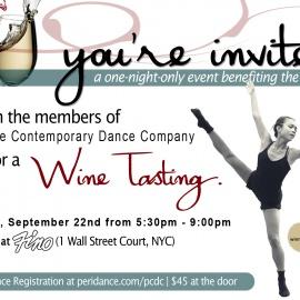 PCDC's Wine Tasting Event