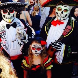 Family 'Dia De Los Muertos' Celebration!