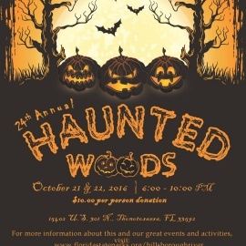 24th Annual Haunted Woods