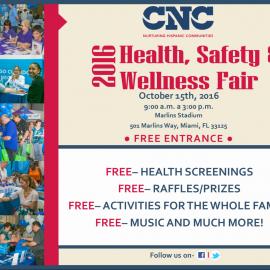 2016 CNC Health, Safety and Wellness Fair