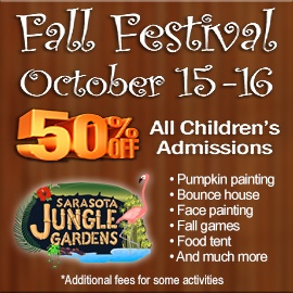 Sarasota Jungle Gardens Fall Festival