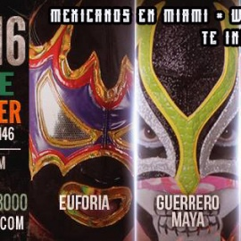 - Lucha Libre - Mexican Wrestling in Miami by Warrior Fight Federation