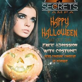 The Secret Halloween Party!