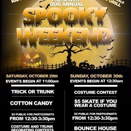 Spooky Skating Weekend