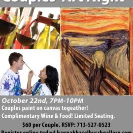 Halloween Couples' Art Night