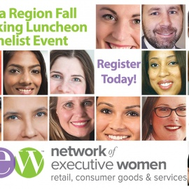 Network of Executive Women (NEW) Florida Region Fall Networking Luncheon and Panelist Event