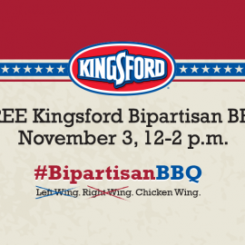 FREE Kingsford Bipartisan BBQ