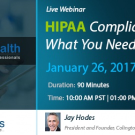 HIPAA Compliance What You Need to Know 2017