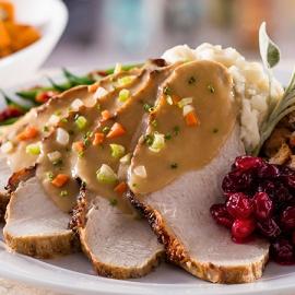 Thanksgiving at Eddie V's