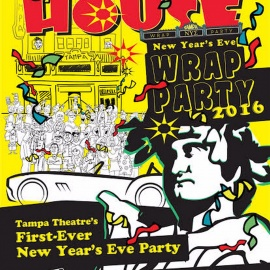 NYE Wrap Party at Tampa Theatre