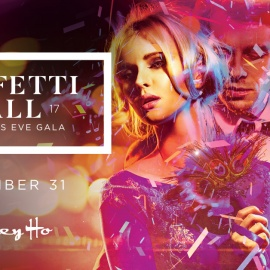 Confetti Ball: New Year's Eve 2017 Gala