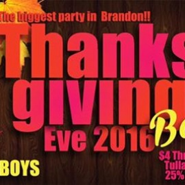 Thanksgiving Eve Bash