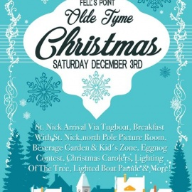 Olde Tyme Christmas in Historic Fells Point