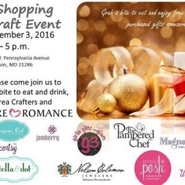 Holiday Shopping Vendor/Craft Event