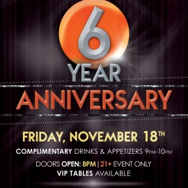 The Rooftop on 6th | 6th Anniversary Party
